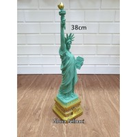 pajangan souvenir miniatur patung liberty besar newyork amerika