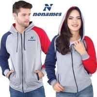 Jaket Pria Sweater Hoodie Zipper Combine Nonames PREMIUM