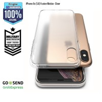 Casing Softcase Ringke iPhone X / Xs Fusion Matte Clear Anti Crack
