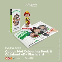 Bundle sale 3 (Color me! Coloring book + Octaland 4D+ Flashcards)