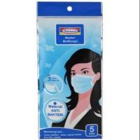 Masker Mulut Hidung Mask Anti Bakteri Bacteria Indomaret