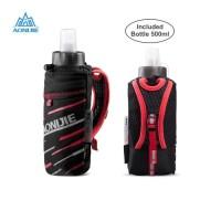 Aonijie E961 Hand Bag + botol 500 ml lari sepeda gym outdoor - Red