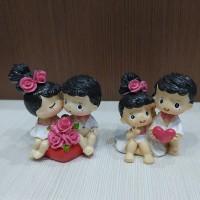 Patung Pengantin mini Modern / patung mini pengantin