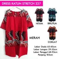 BIG SIZE BIGSIZE DRESS KATUN STRETCH 227