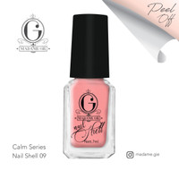 Madame Gie Nail Peel Off Shell Calm Series (Satuan)