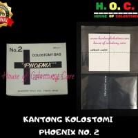 Kantong Kolostomi Phoenix no. 2 Per Lembar