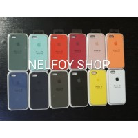 IPHONE 5 5S SE SILICONE CASE ORIGINAL BY APPLE HARD CASING SOFT