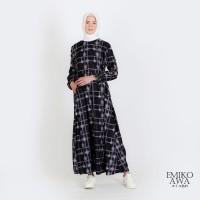 Gamis Wanita Premium Sentani - Emikoawa Busui Syari Dress Maxi Korea