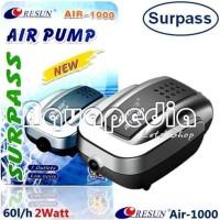 Resun Air-1000 Pompa Udara Aerator Aquarium Air Pump.