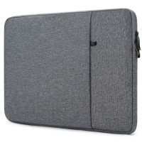 Tas Laptop 15.4 inch Macbook Softcase Nylon Waterproof - Dark Grey