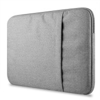 Tas Laptop 15.4 inch Macbook Softcase Nylon Waterproof - Grey