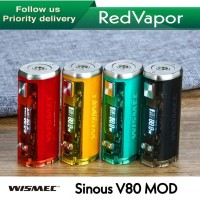 100% Authentic Wismec Sinuous V80 Mod Starter Kit Ready Stock