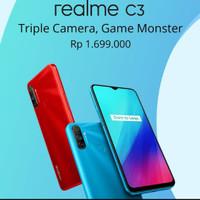 realme c3 ram3/32 garansi resmi