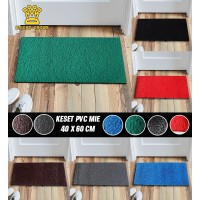 Keset Bihun Karpet Karet PVC Mie 15mm Size 40x60cm Dekorasi Rumah