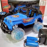 Mainan RC R/C 1:18 Mobil Jeep Off Road RC Remote Control Dakar Jeep