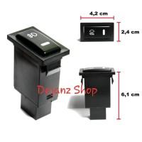 Switch Saklar Tombol Pencetan Foglamp - Fog Lamp Universal. Push Pull