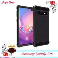 Case Samsung Galaxy S10 Carbon Softcase