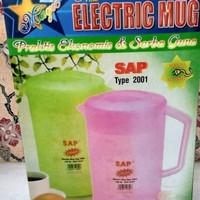 teko listrik plastik electric kettle SAP 2001