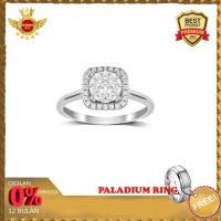 NEW ISTANA MAS- Cincin berlian Eropa asli F VVS NIM018DIAMOND RING