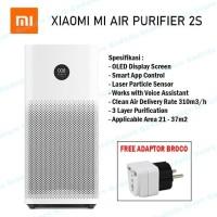 Xiaomi Mi Smart Air Purifier 2S Penjernih Filter Udara Kamar OLED