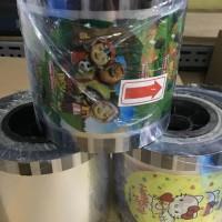 PLASTIK LID CUP SEALER / PLASTIK SEGEL GELAS MINUMAN