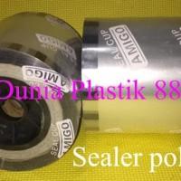1DUS/12ROLL SEALER POLOS TUTUP GELAS PLASTIK CUP ROLL LID SEAL PRESS
