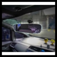 Bezelless Ultra View Kaca Spion Dalam Tengah Mobil   Curve Design Kode