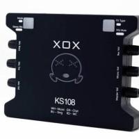 Terpercaya Sound Card External Xox Ks108 Online Recording Smule Ks 108