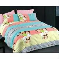 New.. Bed Cover Full Set Berbahan Katun Jepang Halus. Lembut. Ukuran