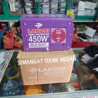MESIN TRAFO LAS INVENTER IGBT 450 WATT LAKONI BASIC 123 i X