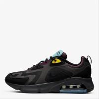 Sepatu Sneakers Pria NIKE ORIGINAL Air Max 200 Black Bordeaux