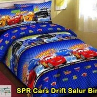 Sale.. Set Bedcover Karakter Cars ..Terlaris