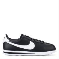 Sepatu Sneakers Pria NIKE ORIGINAL Cortez Basic Black White
