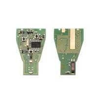 Fob Cover Remote Kunci 3 Tombol untuk Mobil Mercedes Benz 433.92MHz