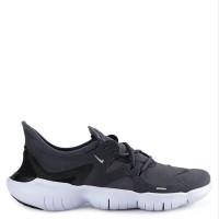Sepatu NIKE ORIGINAL TERBARU Free RN 5.0 Gridiron Black
