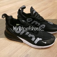 Nike Airmax 270 Supreme Black and White