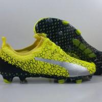 Sepatu Bola Puma Evopower VIgor 1 Safety Yellow FG Replika Impor