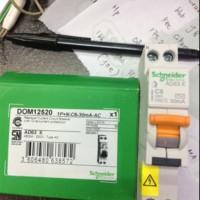 RCBO Slim Domae 1 Phase 6 A. 10 A. 16 A. 20 A Ampere 30 ALK