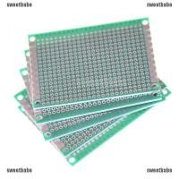 5 Pcs 4 * 6cm Circuit Board Prototype Circuit PCB 1 Sisi