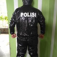 jas hujan sauna olahraga police