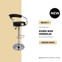 Kursi Bar Minimalis sandar - Kursi Bar Hidrolik SP500 - Kursi Cafe H