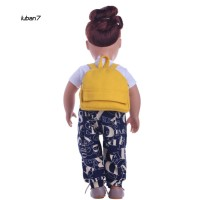 LB7♥Cute Small Backpack Fit 18 Inch Dolls for American Girl Doll