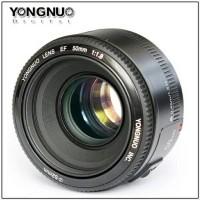 Lensa YongNuo EF YN50mm F1.8 for Canon 50 mm f 1.8 / f/1.8 untuk BOK