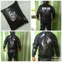 baju sauna olahraga polri police jas hujan