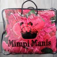 Bed Cover Mimpi Manis Acasia Set King Size 180x200 - Seprei rimpel b