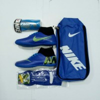 Paket Komplit Termurah Sepatu Futsal Anak Nike Mercurial Kualitas Gr