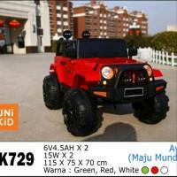 Mobik aki anak Jeep Rubicon Unikid UK-729