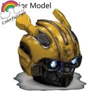 Yellow Bumblebee Speaker Wireless Bluetooth Mini Dengan Subwoofer
