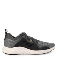 Sepatu Lari ADIDAS Hitam Abu Abu Original Edgebounce