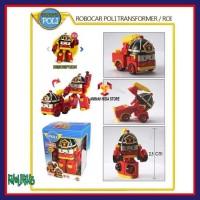 Termurah Mainan Anak Robocar Poli 1 Set Isi 4 Karakter Roy Poli Helly